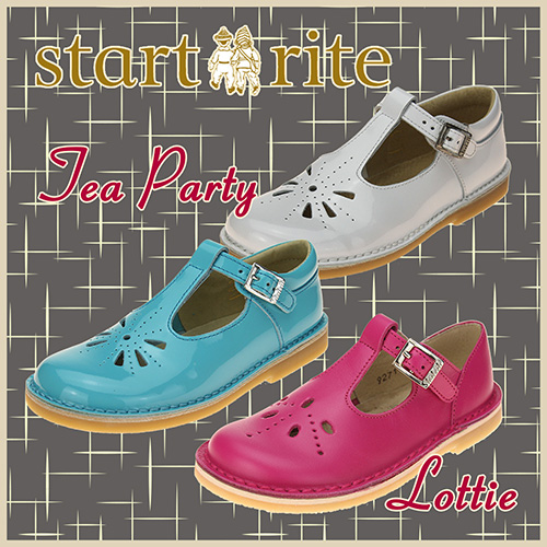 Tea Party and Lottie from Start-rite
