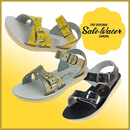 Sun-san sandals from Salt-Water sandals