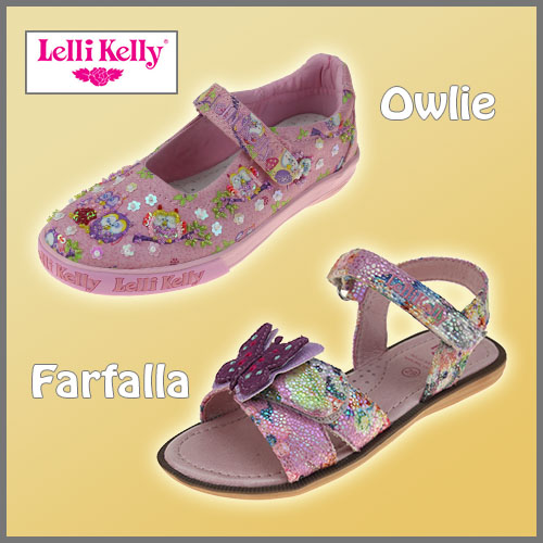 Lelli Kelly Owlie and Farfalla