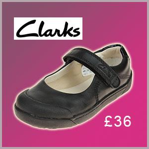 Clarks LilfolkBud school shoe