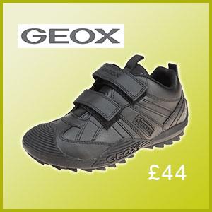 Geox Savage school shoe