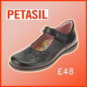 Petasil Bonnie school shoe