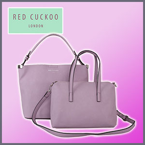 Red Cuckoo Double Bag