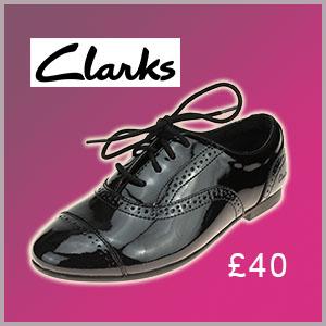Clarks SelseyCool school shoe