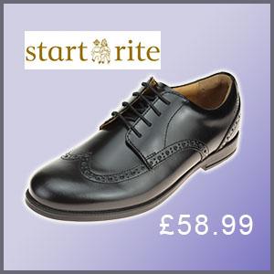 Startrite Pin Brogue school shoe