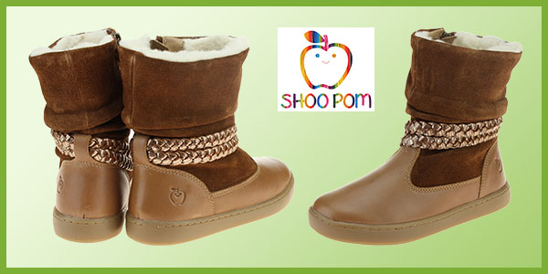 Shoo Pom Girls warm ankle boots
