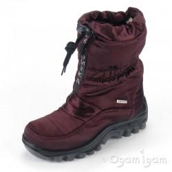 Romika Polar Girls Burgundy Waterproof Ski-style Boot