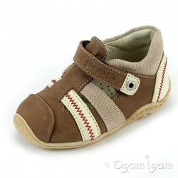 Garvalin Boys Brown Shoe 112361