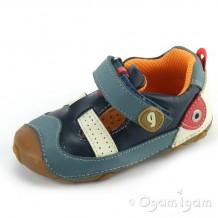 Garvalin Infants Boys Blue Pre Walker Shoe 112324