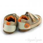 Garvalin Infants Boys Girls Beige Pre Walker Shoe 112323