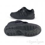 Startrite Crater Boys Black School Shoe 8219