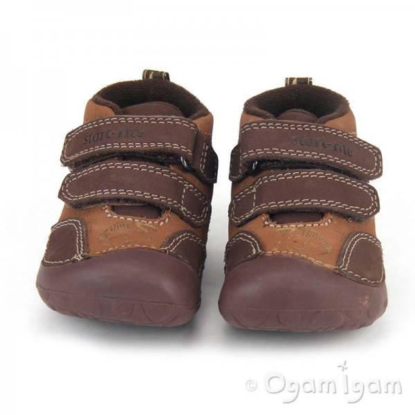 Startrite Fossil Infant Boys Brown Shoe 0708