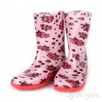 Toughees Ladybird Girls Wellington Boot