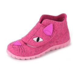 Superfit Girls Rose Kitten Slipper 29561