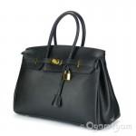 Womens Large Black Handbag