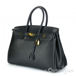 Womens Large Black Handbag