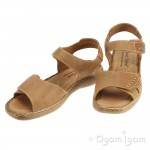 Josef Seibel Lisa Womens Brown Sandal