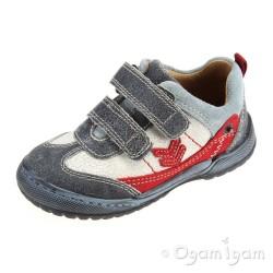 Start-rite Trail Boys Navy Shoe