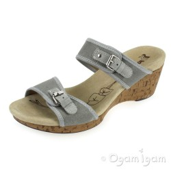 Romika Hawaii 15 Womens Grey Sandal