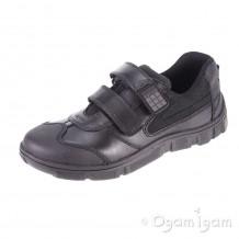 Start-rite Hover Boys Black School Shoe