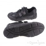 Start-rite Hover Boys Black School Shoe