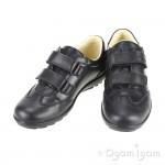 Primigi Ellice Girls Black School Shoe