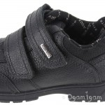 Start-rite Aqua Stream Boys Black Waterproof School Shoe