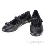 Start-rite Nova Girls Black School Shoe