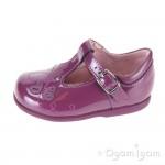 Start-rite Pixie Girls Purple Patent Shoe