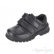 Start-rite Spin Boys  Black School Shoe