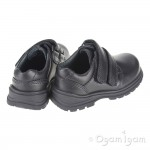 Start-rite Spin Boys  Black School Shoe
