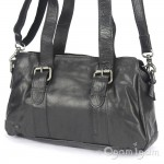 Spikes and Sparrow 23796 Womens Black Shoulder Bag