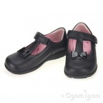 Start-rite Alpha Girls Black Shoe