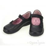 Start-rite Paper Girls Black School Shoe