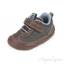 Start-rite Wobble Infant Boys Brown Shoe