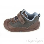Start-rite Wobble Infant Boys Brown Shoe