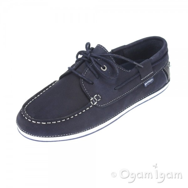 Garvalin 132746 Boys Navy Shoe