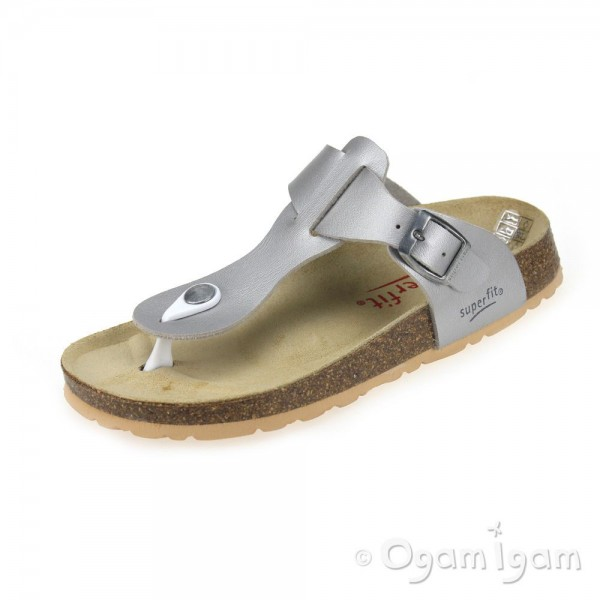 Superfit 0011416 Girls Silver Sandal
