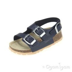 Superfit 0011680 Boys Ocean Blue Sandal