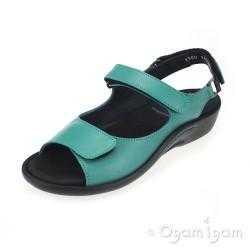 Wolky Salvia Womens Petrol Sandal