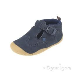 Start-rite Harry Infant Boys Navy Shoe