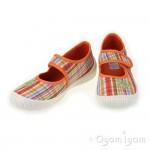 Superfit 0026297 Girls Sunburst Canvas Shoe