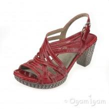 Josef Seibel Julia 01 Womens Red Sandal