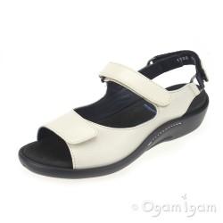 Wolky Salvia Linen Womens Linen Sandal