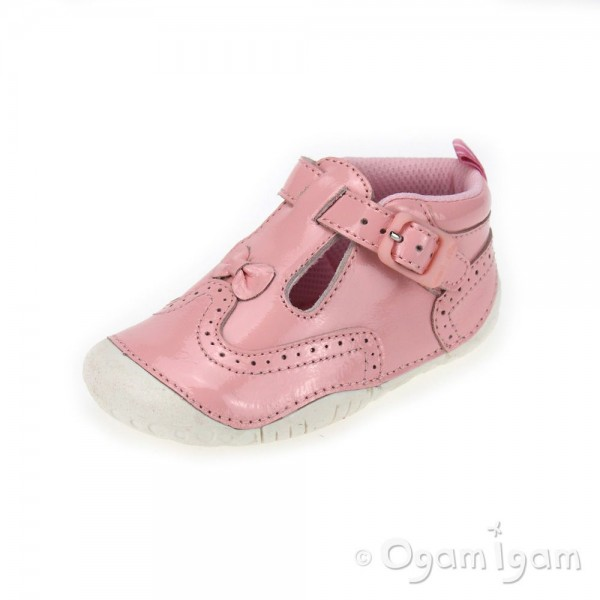 Start-rite May Pink Infant Girls Pink Shoe