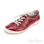 Josef Seibel Caspian Womens Glossy Red Shoe
