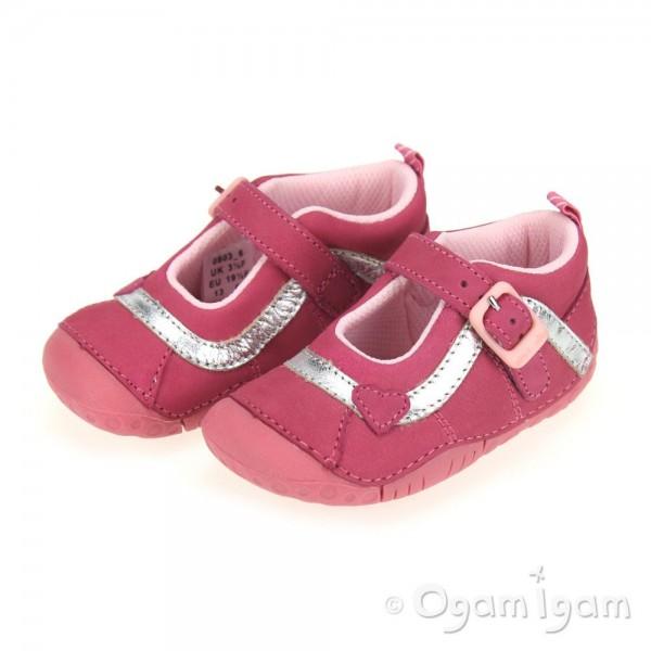 Start-rite Bright Infant Girls Pink Shoe