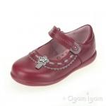 Start-rite Ella Girls Dark Pink/Red Shoe