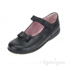 Start-rite Viola Girls Black School Shoe