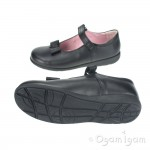 Start-rite Viola Girls Black School Shoe